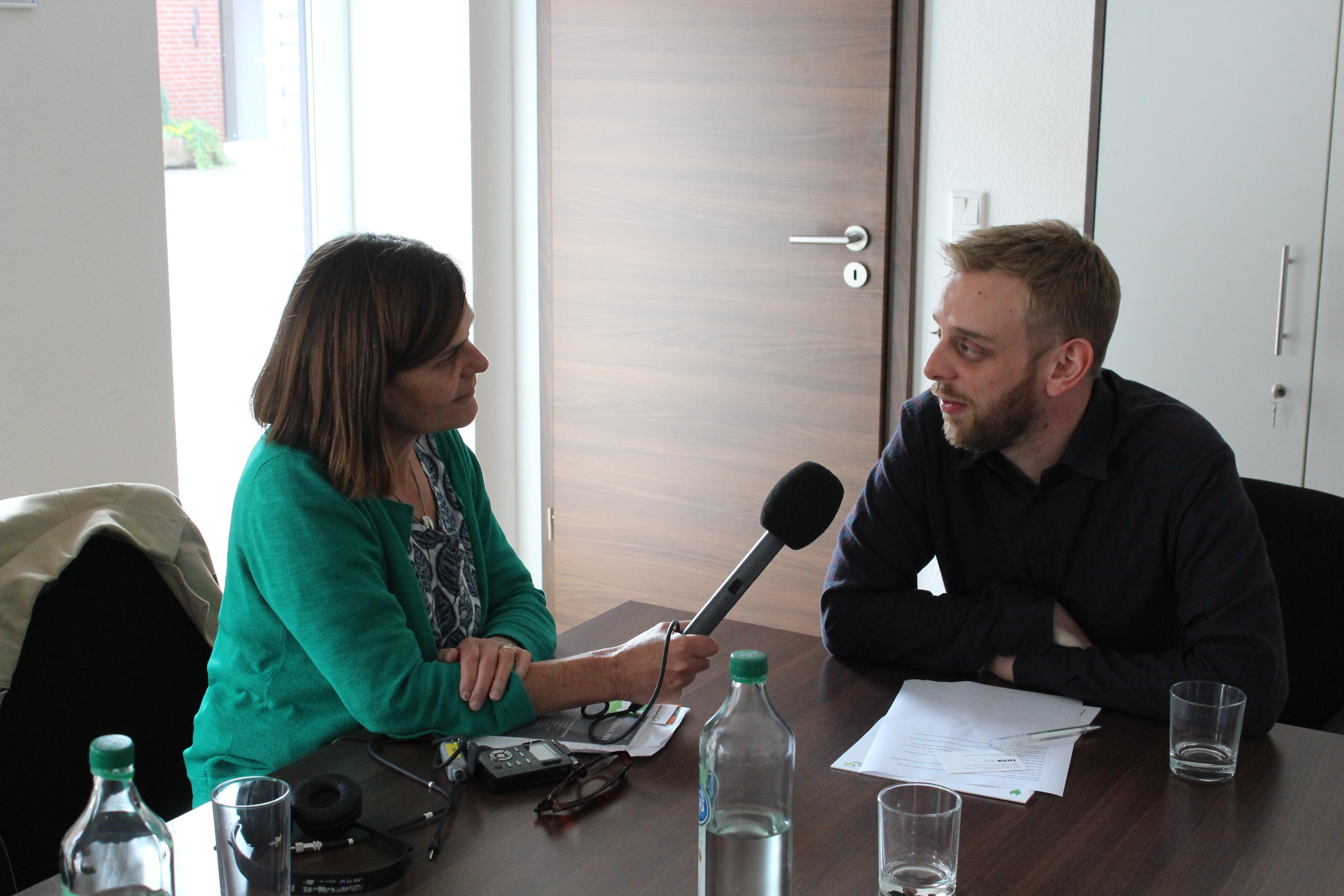 Thomas Voss im Gespräch mit dem BBC